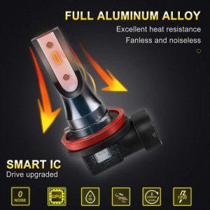 L'ampoule antibrouillardH11 Car Work Box